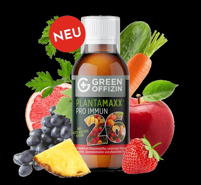 Plantamaxx Pro Immun 26 mit Früchten und Gemüse